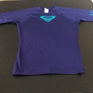 EUC! Purple Rash Guard